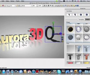 Aurora 3D Text and Logo Maker 2018 Torrent