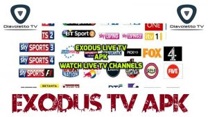 Exodus Android TV Live TV streaming Apk