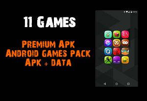 Premium Apk Android games pack