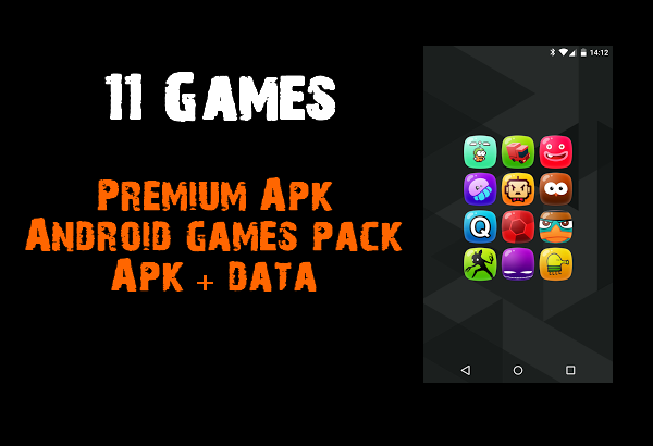 Premium Apk Android games pack
