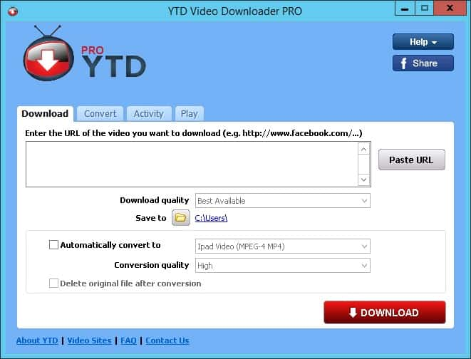 YTD Video Downloader 2018 Torrent