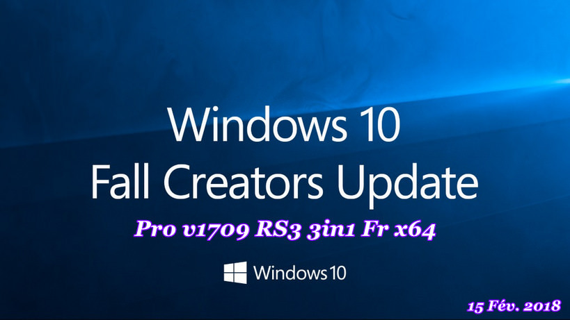windows 10 pro french x64 15 fev 2018