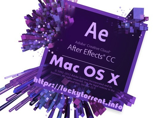 Adobe After Effects CC 2018 Mac OS X Torrent