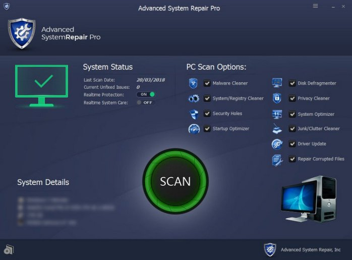 Advanced System Repair Pro 2018 Torrent