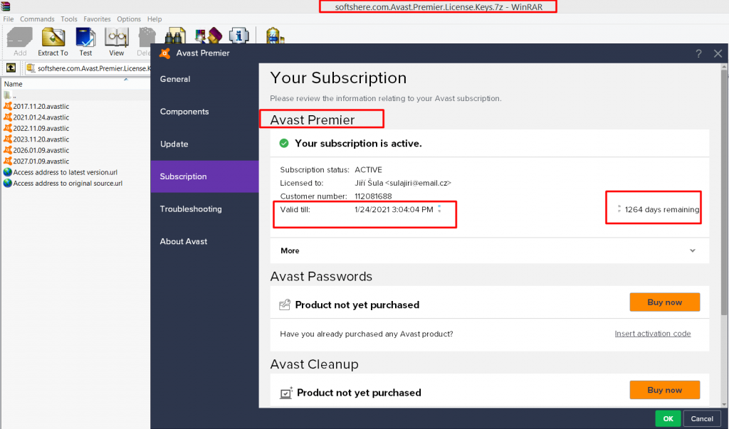 Avast Premier 2018 Torrent + License 2021