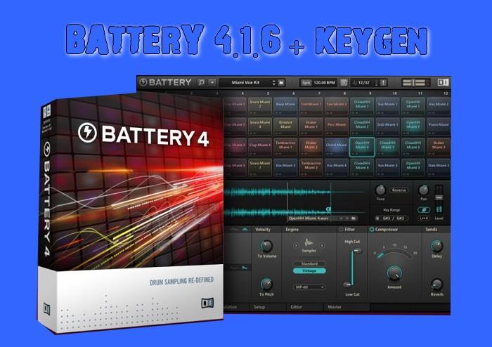 BATTERY 4.1.6 + Keygen