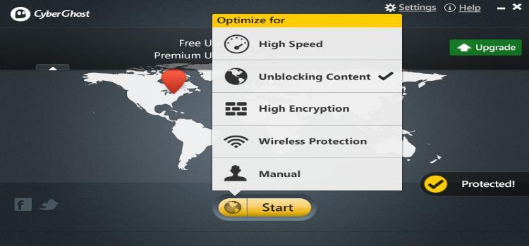 Cyberghost VPN v6.5.1.3378 Précracké