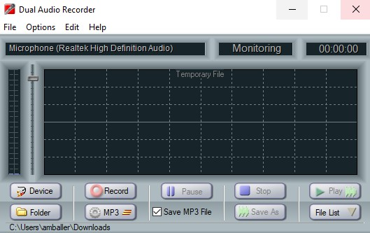 Dual Audio Recorder 2.4.1 + serial