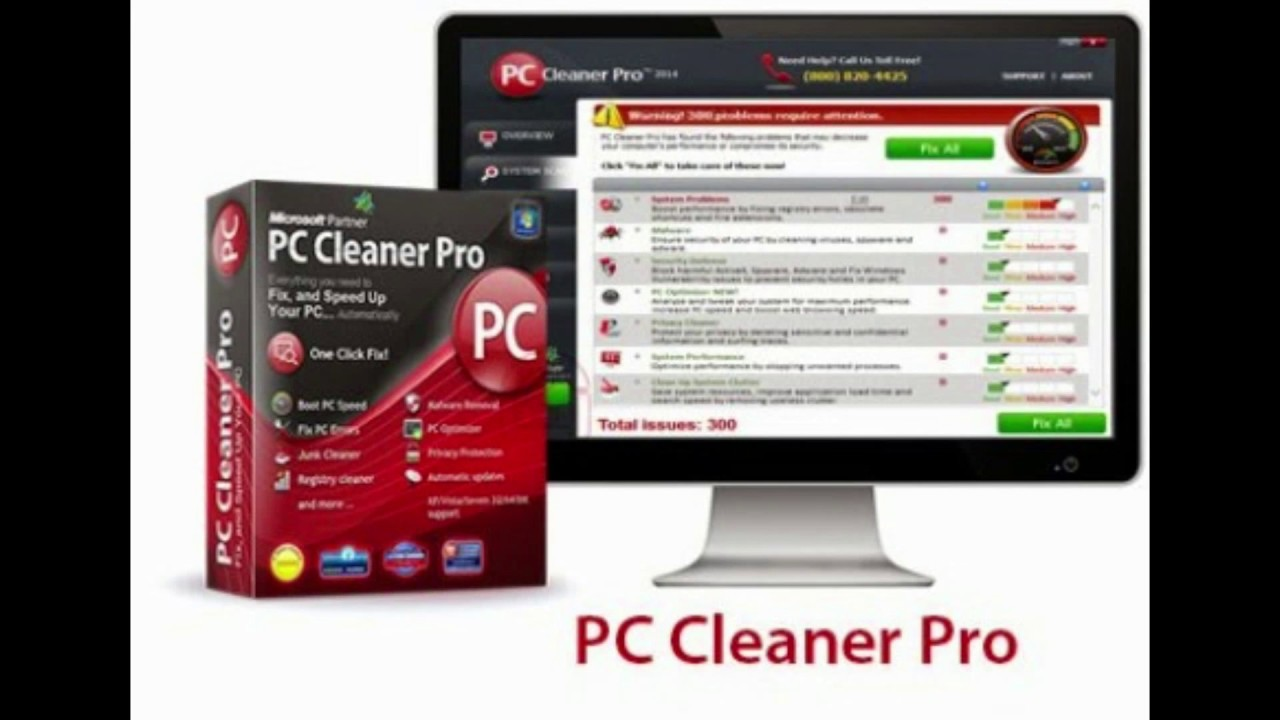 PC Cleaner Pro 2018 + Cle d'activation