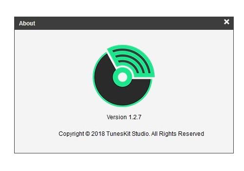 TunesKit Spotify Converter v1.2.7