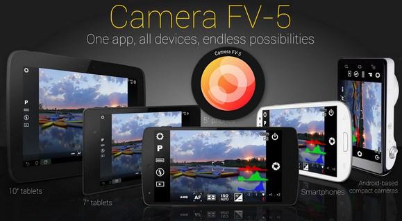 Camera FV 5 Pro Apk Fr