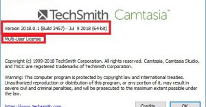 TechSmith Camtasia Studio 2018 + Crack