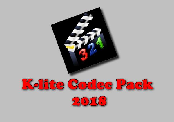 K-lite Codec Pack 2018 Torrent