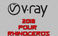 VRay 2018 pour Rhinoceros