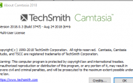 CAMTASIA 2018 + KEYS