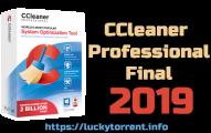 CCleaner Professional 2018 + Serial Keys