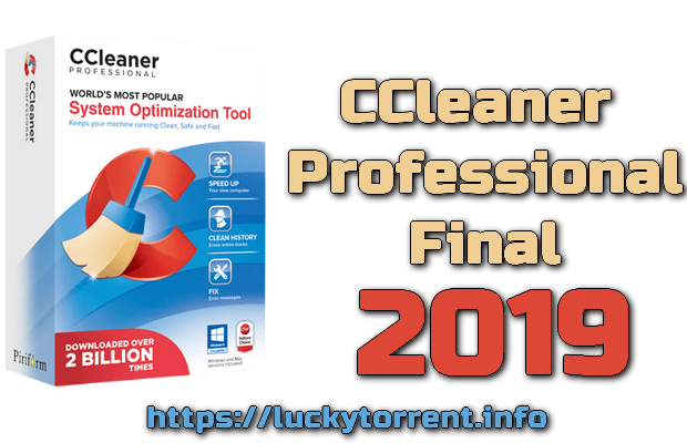 CCleaner Professional 2018 + Serial Keys