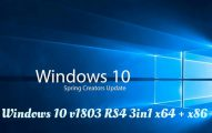 Windows 10 v1803 RS4 3in1 Fr Torrent