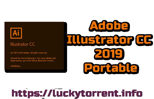 Adobe Illustrator CC 2019 Portable Torrent