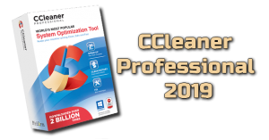 CCleaner Professional 2019 + Serial Keys