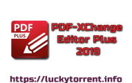 PDF-XChange Editor Plus 2019 Torrent