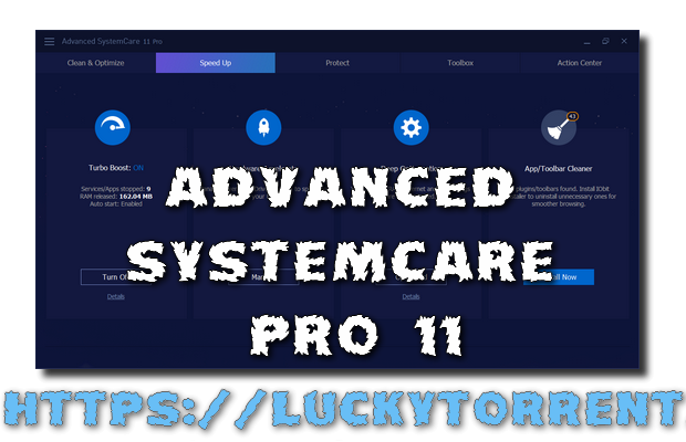 Advanced SystemCare Pro 11 Torrent