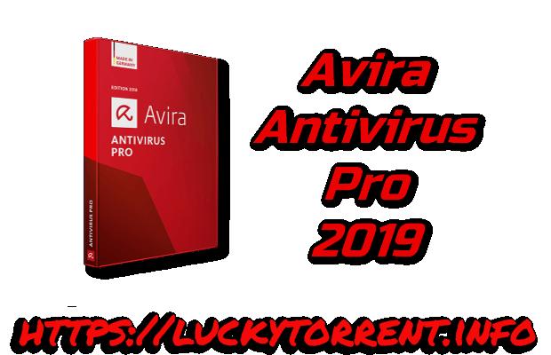 Avira Antivirus Pro 2019 Torrent