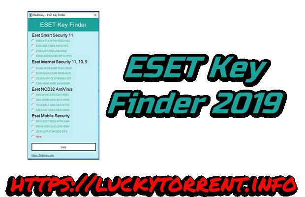 ESET Key Finder 2019 Torrent
