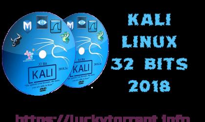 KALI LINUX 32 BITS 2018 Torrent