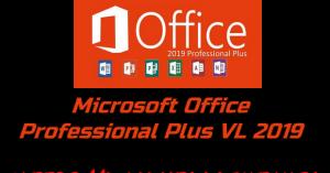 Microsoft Office Professional Plus VL 2019 Torrent