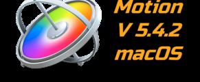 Motion 5.4.2 macOS Torrent