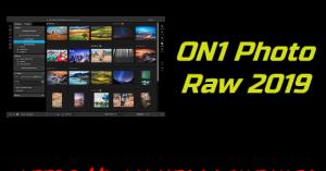 ON1 Photo Raw 2019 + Crack