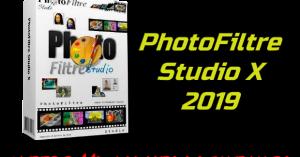 PhotoFiltre Studio X 2019 + Keys
