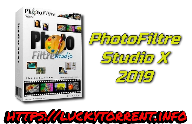 PhotoFiltre Studio X 2019 + Keys
