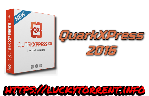 QuarkXPress 2016 Torrent