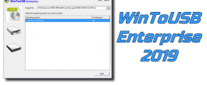 WinToUSB Enterprise 2019 + Crack