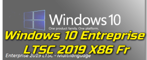 Windows 10 Entreprise LTSC 2019 X86 Fr Torrent