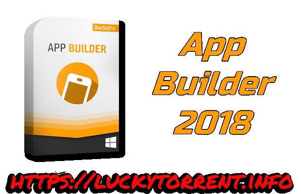 App Builder 2018 Torrent