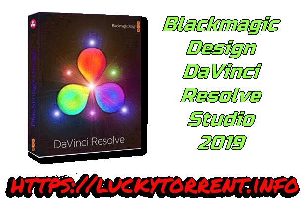 Blackmagic Design DaVinci Resolve Studio 2019 Torrent