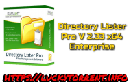 Directory Lister Pro 2.33 x64 Enterprise Torrent