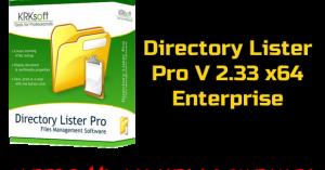 Directory Lister Pro 2.33 x64 Enterprise Torrent