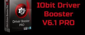 IObit Driver Booster 6.1 PRO + Clé de licence