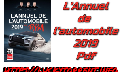L'Annuel de l'automobile 2019 Pdf Torrent