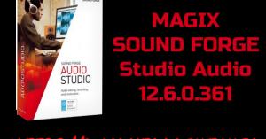 MAGIX SOUND FORGE Studio Audio 12.6.0.361 Torrent