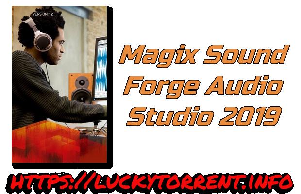 Magix Sound Forge Audio Studio 2019 + Crack