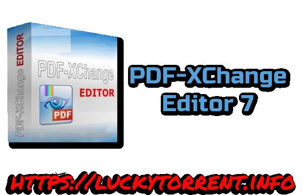 PDF-XChange Editor 7 Torrent