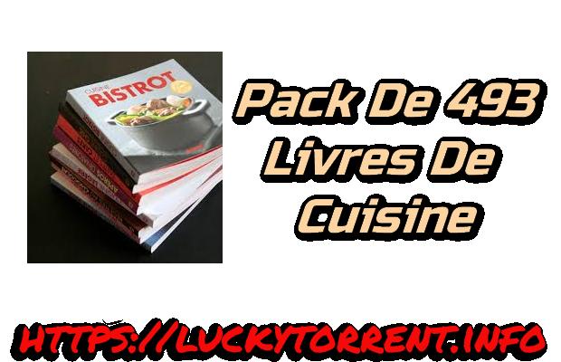 Pack de 493 livres de Cuisine Torrent