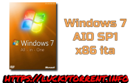 Windows 7 AIO SP1 x86 ita Torrent