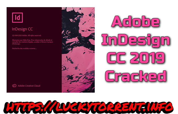 Adobe InDesign CC 2019 Cracked Torrent