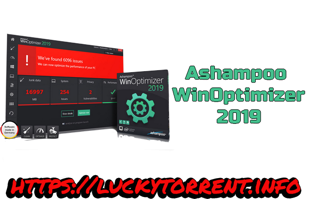 Ashampoo WinOptimizer 2019 TorrentMultilingue